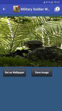 Military Soldier Wallpapers captura de pantalla 4