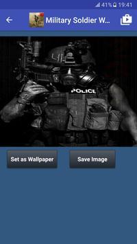 Military Soldier Wallpapers captura de pantalla 5