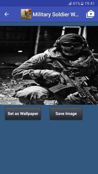 Military Soldier Wallpapers captura de pantalla 6