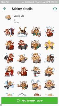 Viking Sticker Packs - WAStickerApps screenshot 2