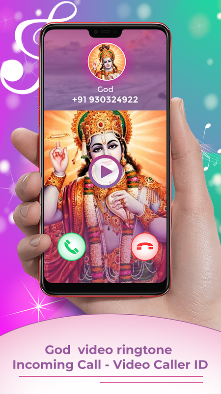 God Video Ringtone For Incoming Call Video Caller for