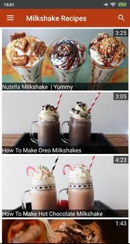 Milkshake Recipes Videos poster