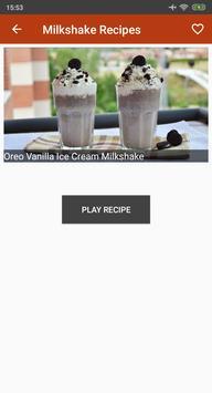 Milkshake Recipes Videos screenshot 3