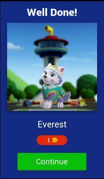 Puppy Patrol - kids quiz screenshot 1