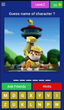Puppy Patrol - kids quiz screenshot 2