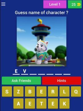 Puppy Patrol - kids quiz screenshot 7