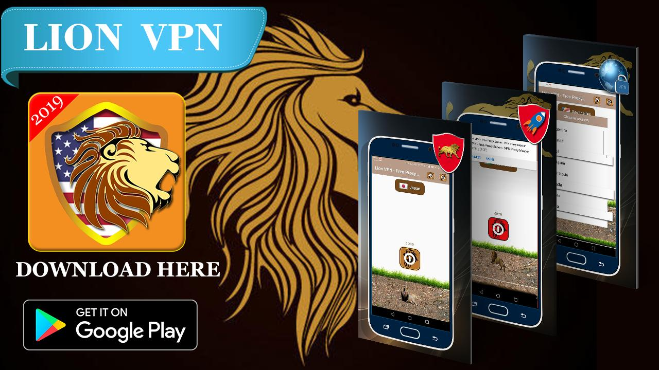 Lion VPN - Free Proxy Server - VPN Proxy Master for Android - APK Download