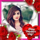 Valentine's Day Photo Frame HD icon
