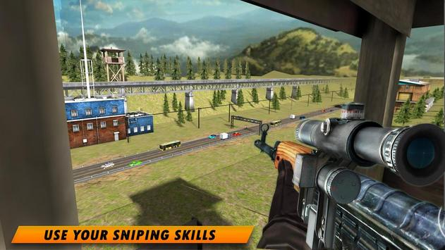 Highway Sniper 3D 2019 screenshot 13