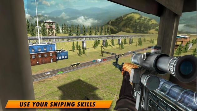 Highway Sniper 3D 2019 screenshot 2