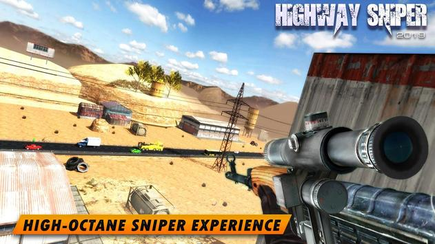 Highway Sniper 3D 2019 screenshot 4