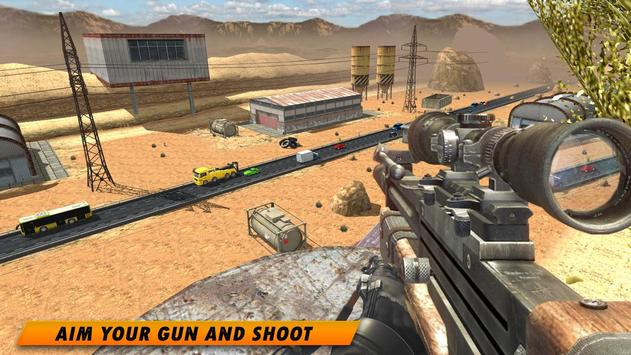 Highway Sniper 3D 2019 screenshot 5