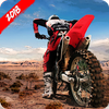 Motocross Racing-icoon