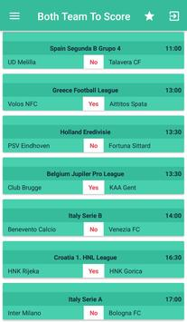 BTTS : Betting Both Team To Score Football Matches for Android - APK
