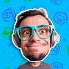 Jokefaces -  Grappige videomaker-icoon