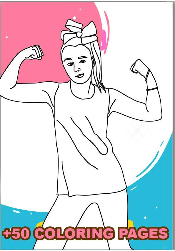 Jojo Siwa Coloring Book For Android Apk Download