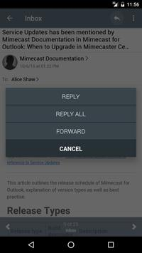 Mimecast screenshot 2