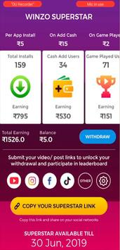 Winzo Gold - Earn money From MPL Games Tips screenshot 1