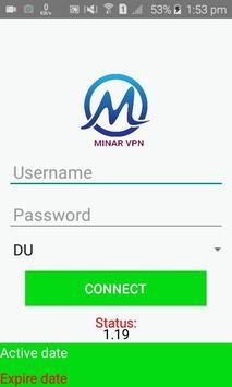 Minar VPN poster