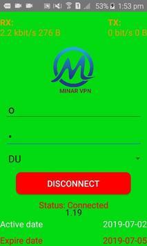 Minar VPN screenshot 1