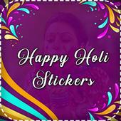 Happy Holi Sticker - WAStickerApps icon