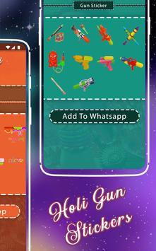 Happy Holi Sticker - WAStickerApps screenshot 3