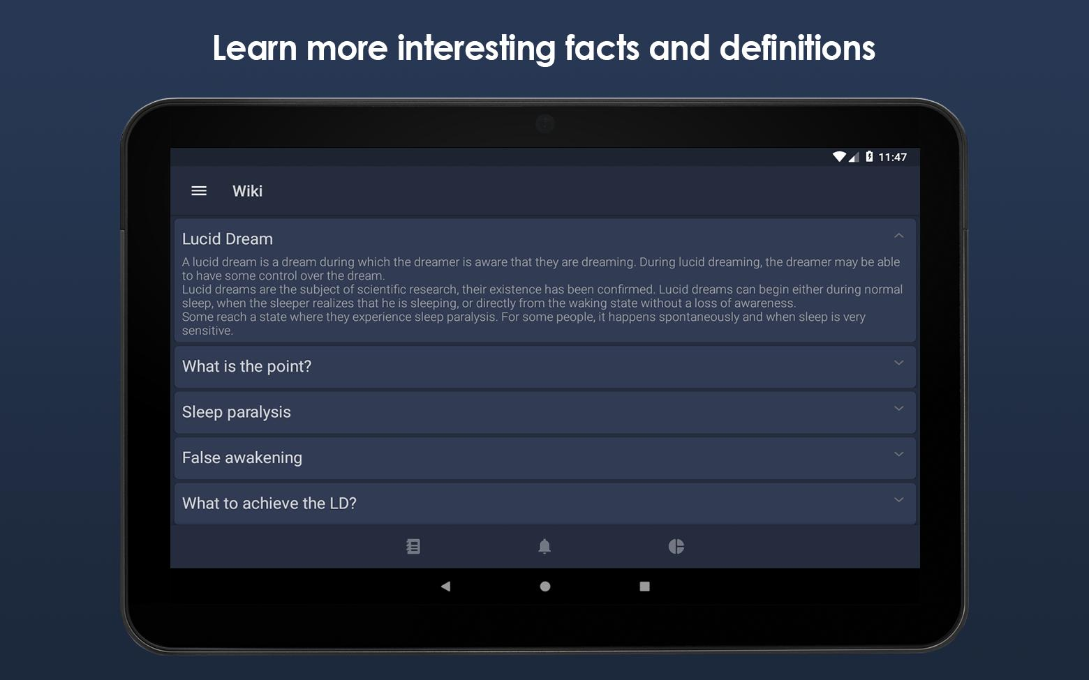 Lucidly Pro: Dream Journal & Lucid Dreaming Helper for Android - APK  Download