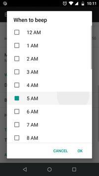 Beep Hourly - Your hourly chime app screenshot 11