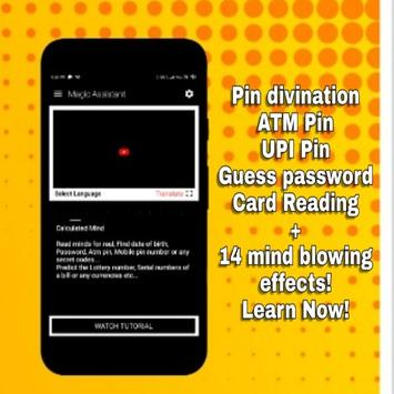 Magic assistant : Magic tricks and mentalism app screenshot 2