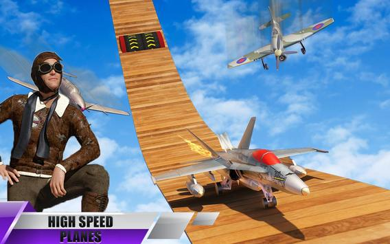 Aeroplane GT Racing Stunts: Aeroplane Games screenshot 4