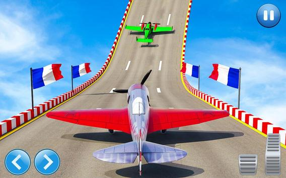 Aeroplane GT Racing Stunts: Aeroplane Games poster