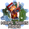 Best Minecraft Skins, Mods and Maps icône