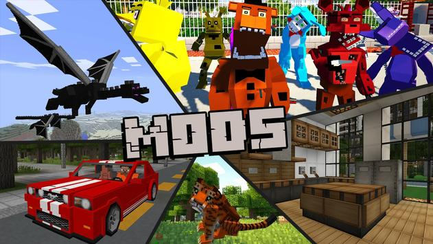 Best Minecraft Skins, Mods and Maps poster