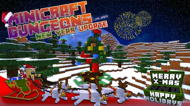 Minicraft Dungeons - New Year Exploration poster