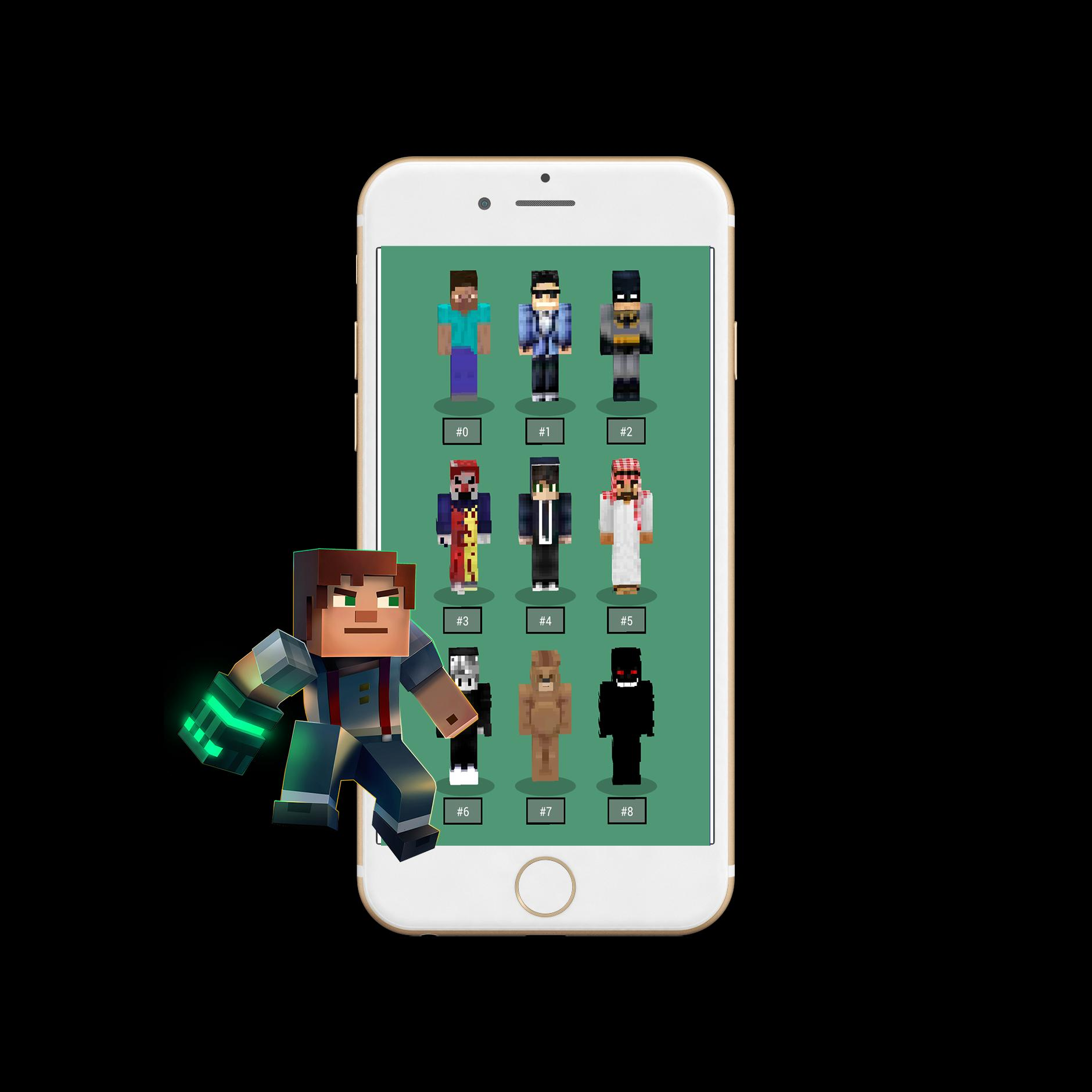 Unlimited Minecraft Skins Pe For Android Apk Download