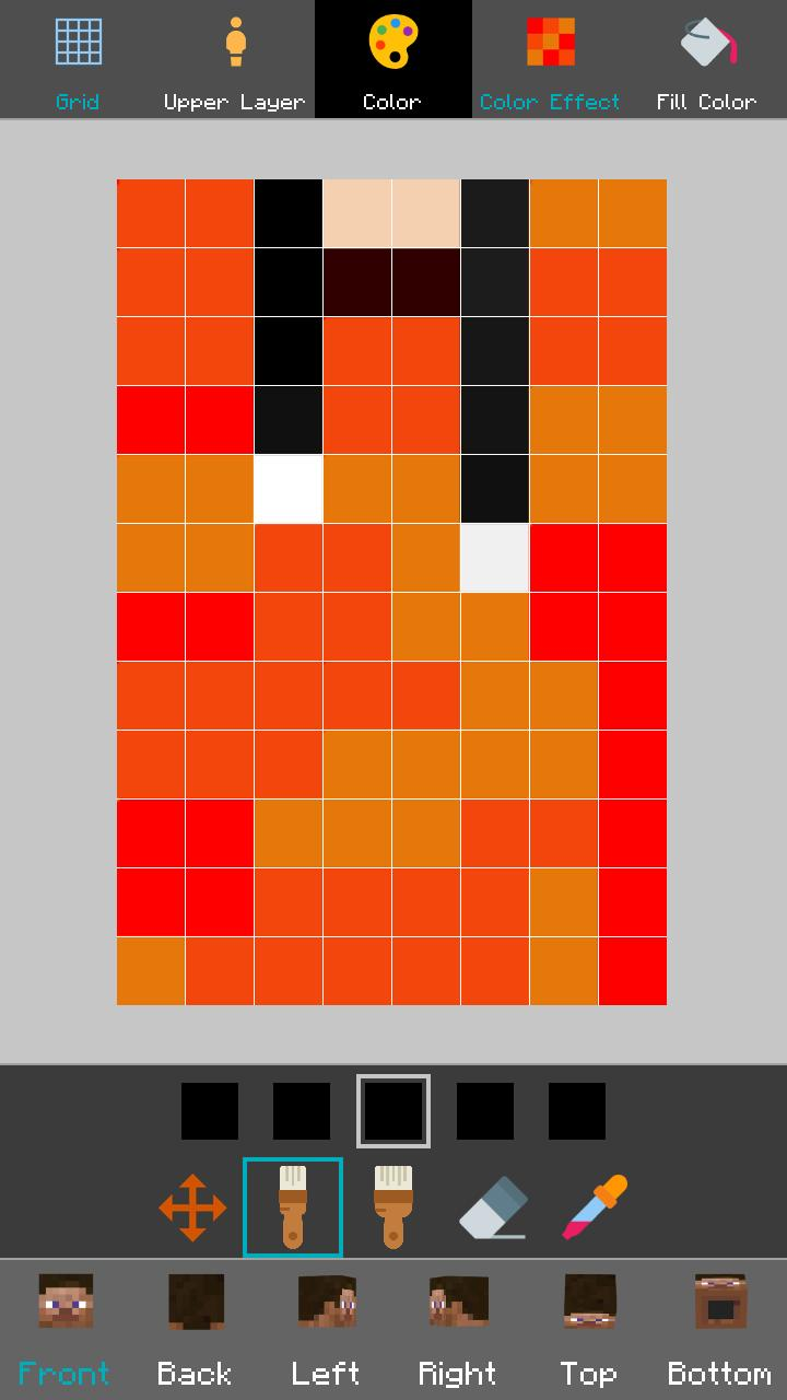 Custom Skin Editor Lite For Minecraft For Android Apk Download
