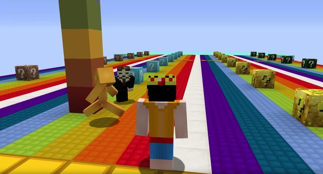 Lucky Blocks Race Maps imagem de tela 1
