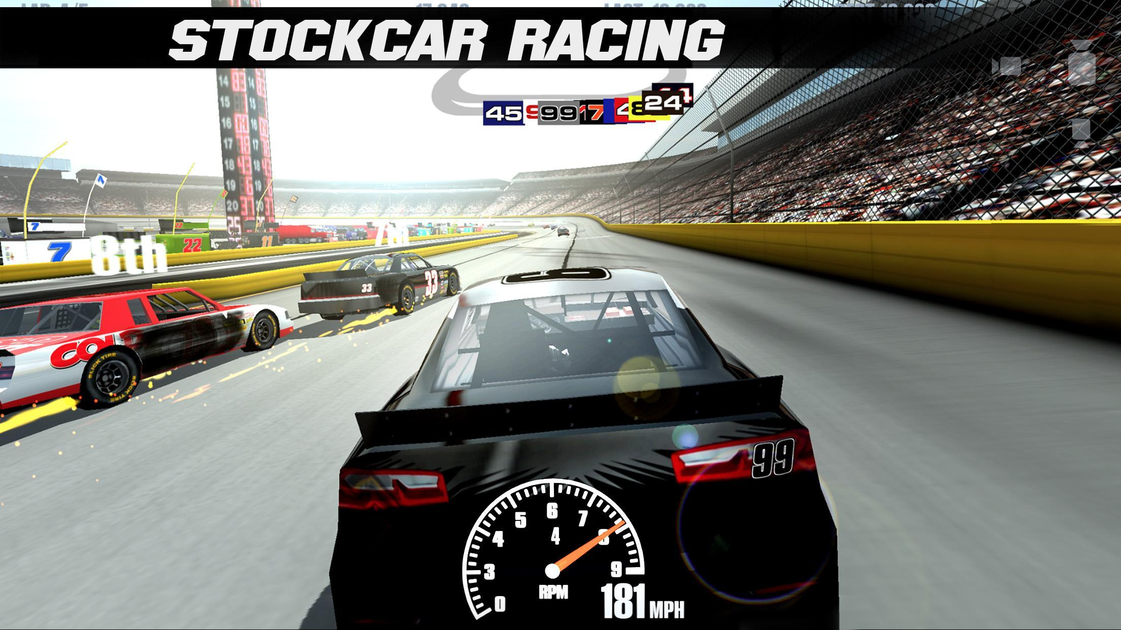 Stock car racing 3. 1. 15 download for android apk free.