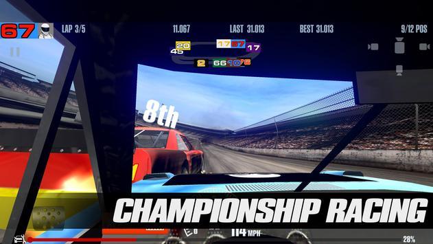 Stock Car Racing تصوير الشاشة 14