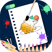 Coloring Book : Brush, Paint for kids - MiniColor icon