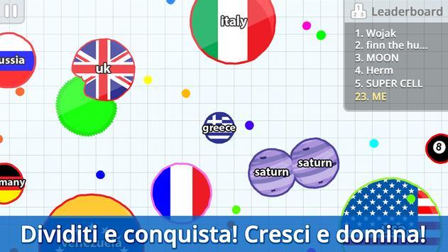 1 Schermata Agar.io