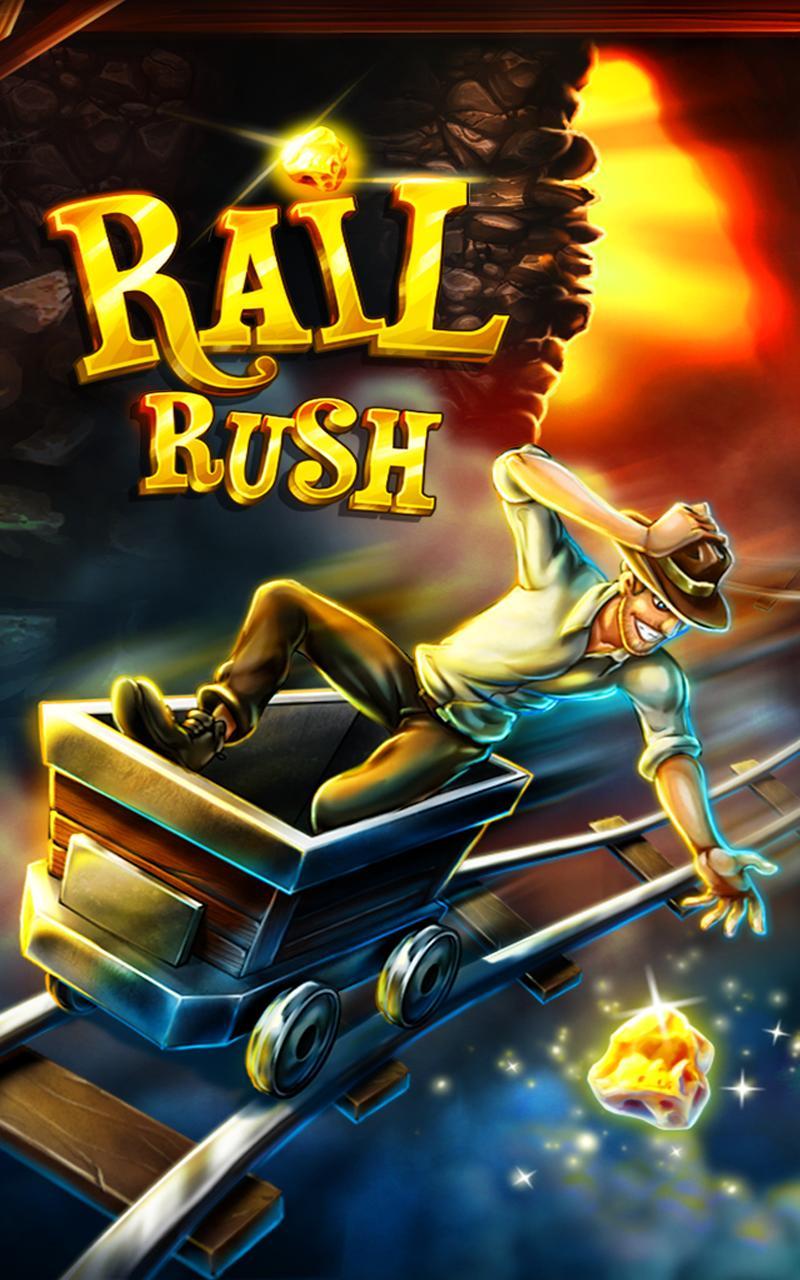 تحميل لعبة rail rush للكمبيوتر
