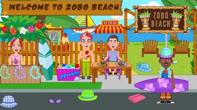 Pretend Play Beach Life: Fun Town picnic Games screenshot 6