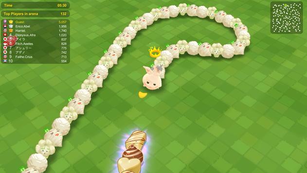 Sweet Crossing: Snake.io capture d'écran 1