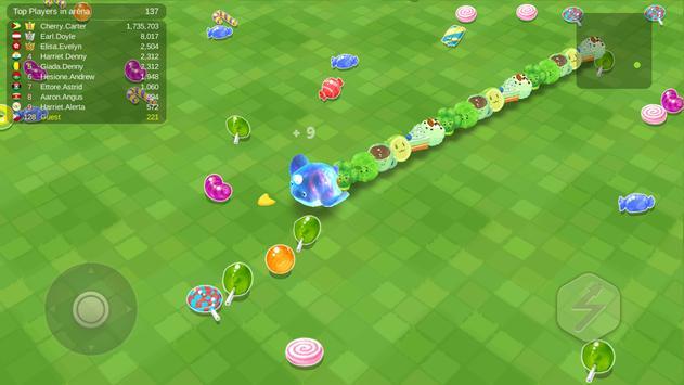 Sweet Crossing: Snake.io capture d'écran 3