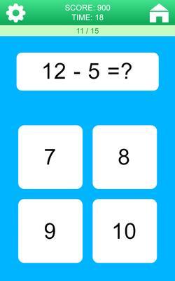 Math Games Screenshots