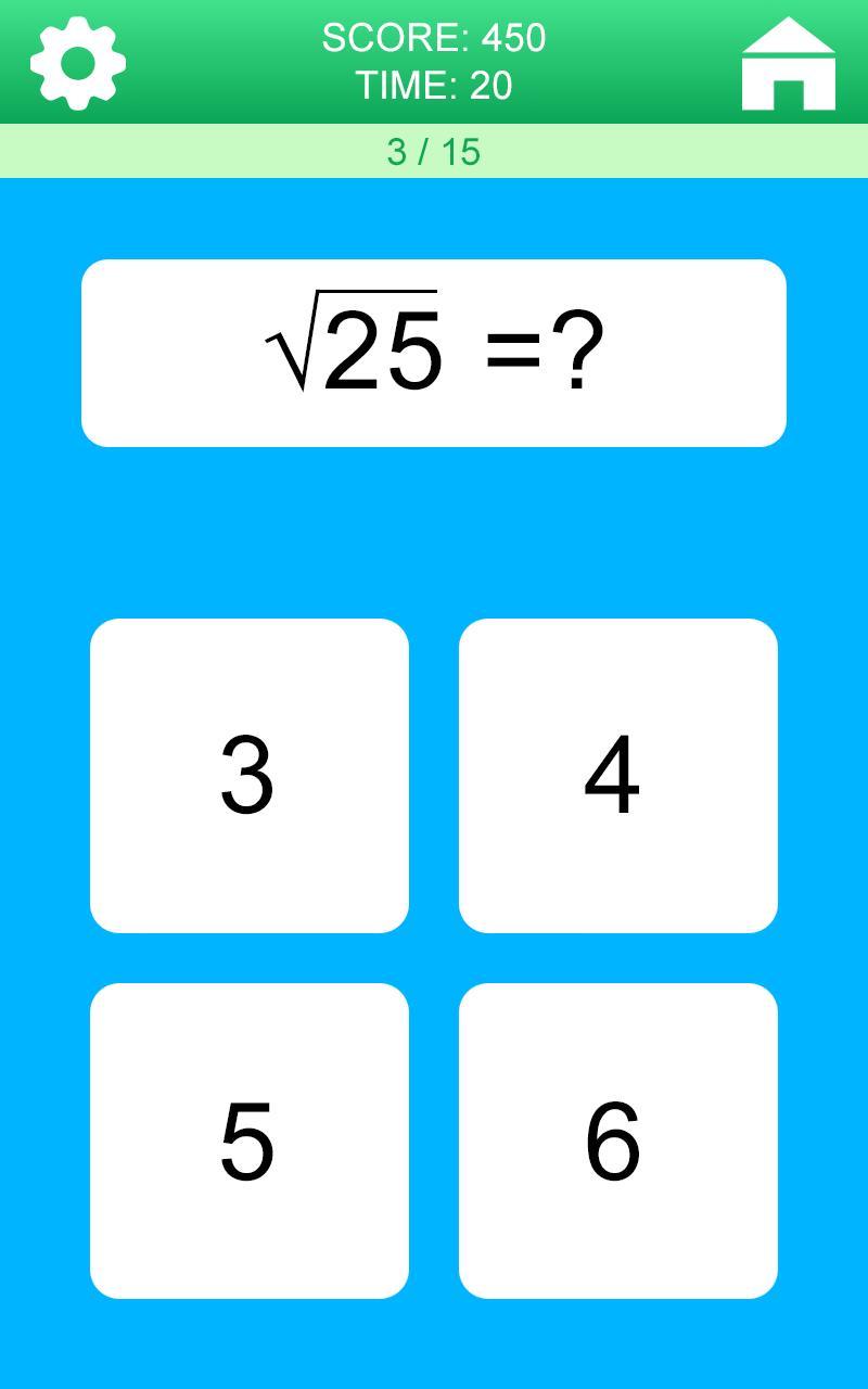 Mathe Spiel