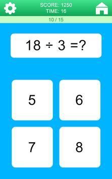 Juegos de Matemáticas captura de pantalla 4