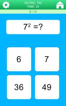 Juegos de Matemáticas captura de pantalla 5