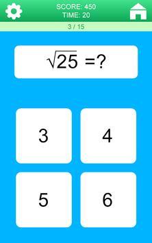 Juegos de Matemáticas captura de pantalla 6
